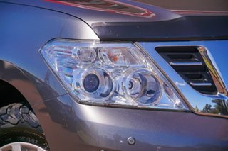 2018 Nissan Patrol Y62 Series 4 TI Grey 7 Speed Sports Automatic Wagon.