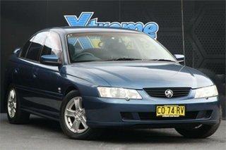 2002 Holden Commodore VY Lumina Executive Blue 4 Speed Automatic Sedan.