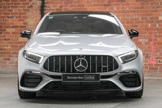 2020 Mercedes-Benz A-Class W177 800+050MY A45 AMG SPEEDSHIFT DCT 4MATIC+ S Iridium Silver 8 Speed.