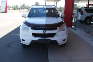 2014 Holden Colorado RG MY15 LS Space Cab White 6 Speed Sports Automatic Cab Chassis.