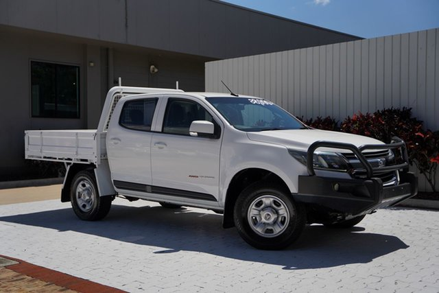 Used Holden Colorado RG MY16 LS Crew Cab 4x2 Cairns, 2016 Holden Colorado RG MY16 LS Crew Cab 4x2 White 6 Speed Sports Automatic Utility