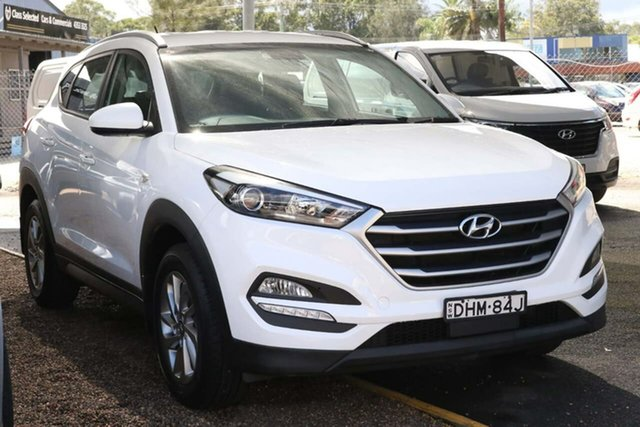 Used Hyundai Tucson TL MY17 Active 2WD Tuggerah, 2016 Hyundai Tucson TL MY17 Active 2WD White 6 Speed Sports Automatic Wagon