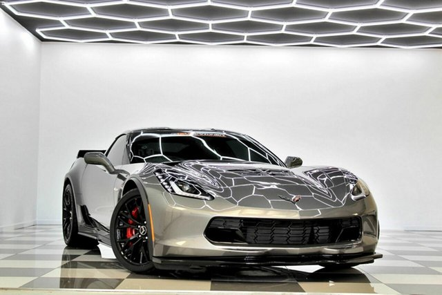 Used Chevrolet Corvette C7 Burleigh Heads, 2015 Chevrolet Corvette C7 Z06 Grey 7 Speed Manual Coupe