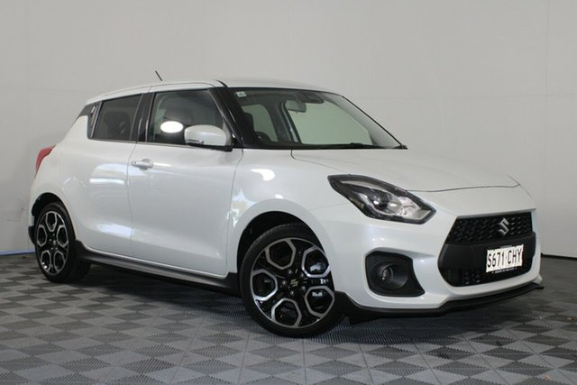 Demo Suzuki Swift AZ Series II Sport Wayville, 2020 Suzuki Swift AZ Series II Sport Pure White 6 Speed Manual Hatchback