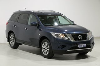 2016 Nissan Pathfinder R52 MY15 Upgrade ST (4x2) Blue Continuous Variable Wagon