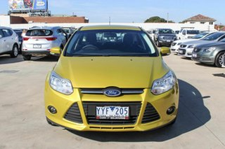 2012 Ford Focus LW Trend PwrShift Gold 6 Speed Sports Automatic Dual Clutch Hatchback