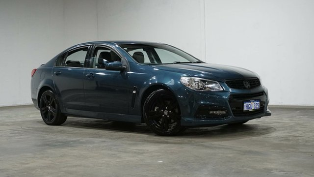 Used Holden Commodore VF MY14 SS Welshpool, 2014 Holden Commodore VF MY14 SS Blue 6 Speed Sports Automatic Sedan