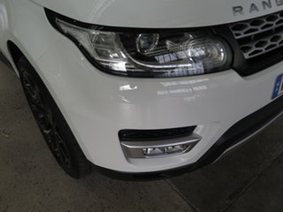 2014 Land Rover Range Rover LW Sport 3.0 SDV6 HSE White 8 Speed Automatic Wagon