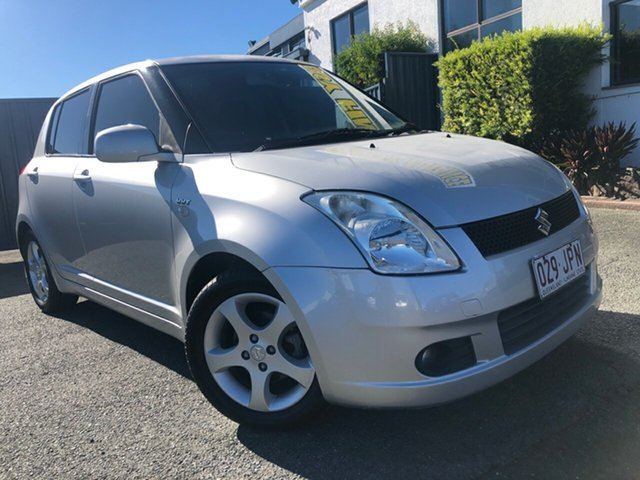 Used Suzuki Swift RS415 Slacks Creek, 2006 Suzuki Swift RS415 Silver 5 Speed Manual Hatchback