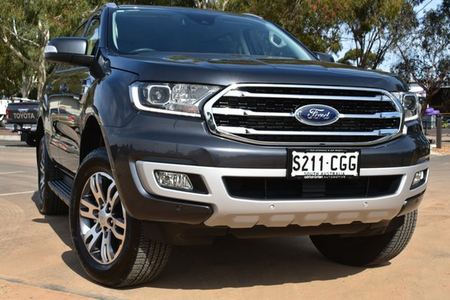 Used Ford Everest UA II 2020.25MY Trend St Marys, 2020 Ford Everest UA II 2020.25MY Trend Grey 10 Speed Sports Automatic SUV