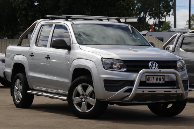 Used Volkswagen Amarok 2H MY17 TDI420 4MOTION Perm Core Bundamba, 2017 Volkswagen Amarok 2H MY17 TDI420 4MOTION Perm Core Reflex Silver 8 Speed Automatic Utility