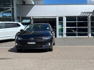 2020 Volkswagen Polo AW MY20 70TSI Trendline Black 5 Speed Manual Hatchback.