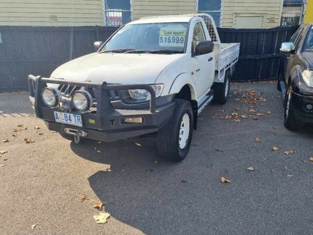 Used Mitsubishi Triton ML MY09 GLX Launceston, 2009 Mitsubishi Triton ML MY09 GLX White 5 Speed Manual Utility