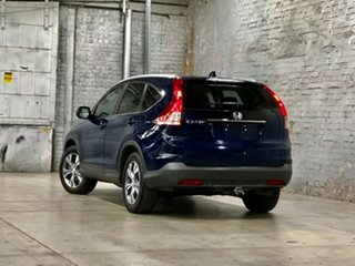 2013 Honda CR-V RM MY14 DTi-L 4WD Blue 5 Speed Sports Automatic Wagon