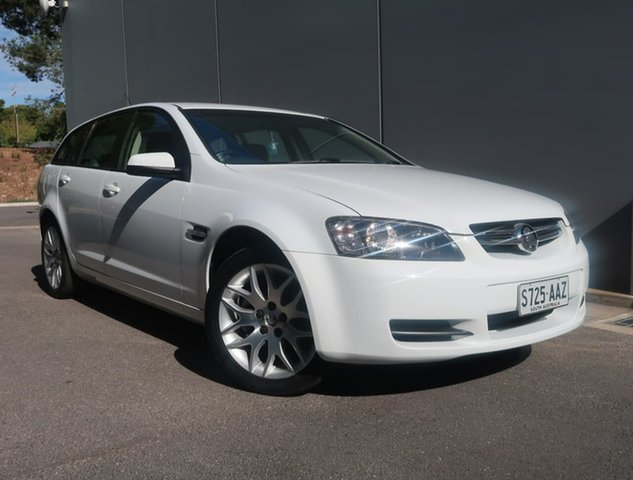 Used Holden Commodore VE MY09 60th Anniversary Sportwagon Reynella, 2008 Holden Commodore VE MY09 60th Anniversary Sportwagon White 4 Speed Automatic Wagon