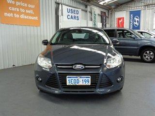 2013 Ford Focus LW MkII Trend Grey 5 Speed Manual Hatchback.