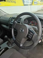 2008 Nissan Navara D40 ST-X Black 6 Speed Manual Utility.