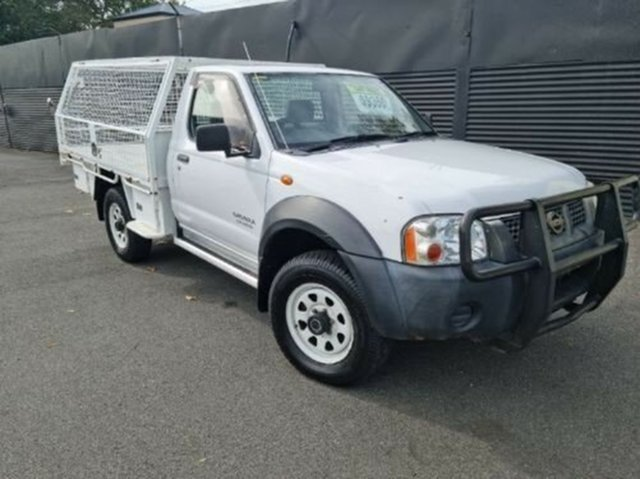 Used Nissan Navara D22 MY2002 DX Launceston, 2002 Nissan Navara D22 MY2002 DX White 5 Speed Manual Cab Chassis