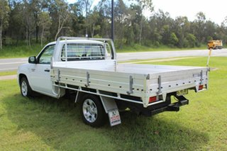2011 Mazda BT-50 UNY0W4 DX 4x2 White 5 Speed Manual Cab Chassis