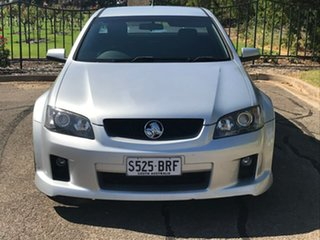 2009 Holden Ute VE MY09.5 SS V Silver 6 Speed Manual Utility.