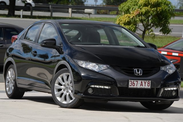 Used Honda Civic 9th Gen VTi-L North Lakes, 2012 Honda Civic 9th Gen VTi-L Black 5 Speed Sports Automatic Hatchback