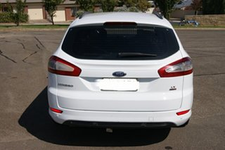 2013 Ford Mondeo MC LX TDCi White 6 Speed Direct Shift Hatchback.