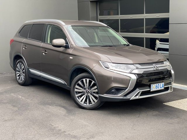 Used Mitsubishi Outlander ZL MY19 ES AWD Hobart, 2018 Mitsubishi Outlander ZL MY19 ES AWD Bronze 6 Speed Constant Variable Wagon