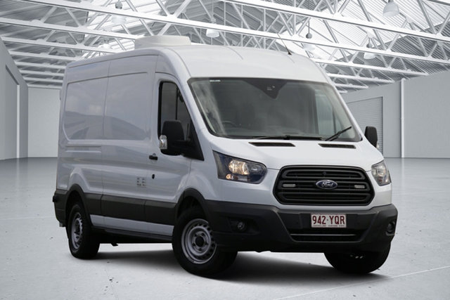 Used Ford Transit VO MY17.25 350L (LWB) FWD High Roof Eagle Farm, 2018 Ford Transit VO MY17.25 350L (LWB) FWD High Roof White 6 Speed Automatic Van