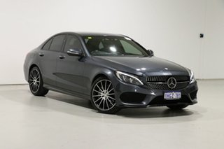 2015 Mercedes-Benz C250 205 Grey 7 Speed Automatic Sedan.