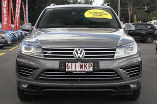 2015 Volkswagen Touareg 7P MY15 V8 TDI Tiptronic 4MOTION R-Line Grey 8 Speed Sports Automatic Wagon