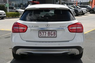 2015 Mercedes-Benz GLA-Class X156 806MY GLA250 DCT 4MATIC White 7 Speed Sports Automatic Dual Clutch