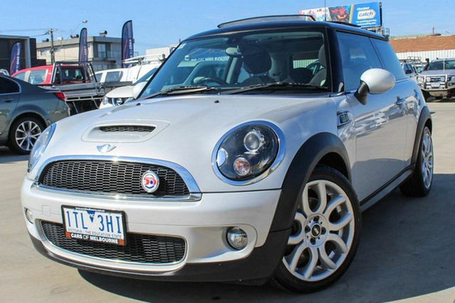 Used Mini Hatch R56 MY10 Cooper S Steptronic Camden Coburg North, 2010 Mini Hatch R56 MY10 Cooper S Steptronic Camden Silver 6 Speed Sports Automatic Hatchback