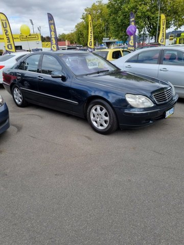 Used Mercedes-Benz S-Class W220 S430 Launceston, 2002 Mercedes-Benz S-Class W220 S430 Green 5 Speed Automatic Sedan