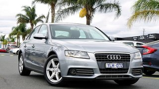 2011 Audi A4 B8 8K MY11 Multitronic Silver 8 Speed Constant Variable Sedan.