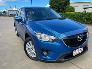 2013 Mazda CX-5 KE1021 Maxx SKYACTIV-Drive AWD Sport Blue/040313 6 Speed Sports Automatic Wagon.
