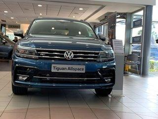 2020 Volkswagen Tiguan 5N MY21 162TSI Highline DSG 4MOTION Allspace Blue 7 Speed.