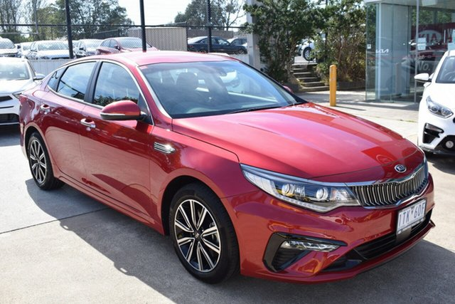 Used Kia Optima JF MY20 SI Ferntree Gully, 2019 Kia Optima JF MY20 SI Runway Red 6 Speed Sports Automatic Sedan