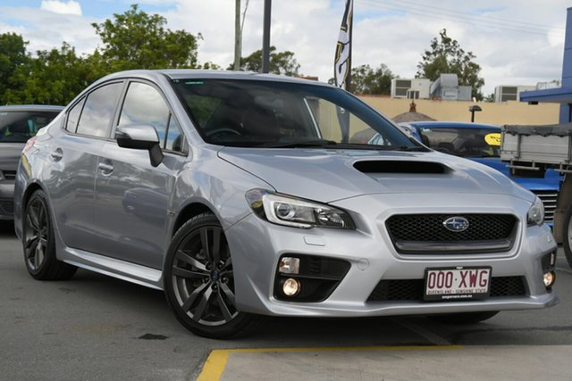 Used Subaru WRX V1 MY17 AWD Aspley, 2017 Subaru WRX V1 MY17 AWD Silver 6 Speed Manual Sedan