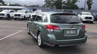 2013 Subaru Liberty B5 MY13 2.5i Lineartronic AWD Green 6 Speed Constant Variable Wagon