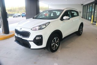 2020 Kia Sportage QL MY20 S 2WD Clear White 6 Speed Sports Automatic Wagon.
