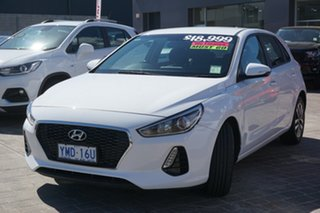 2017 Hyundai i30 GD4 Series II MY17 Active White 6 Speed Manual Hatchback