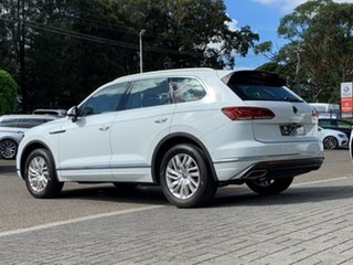 2021 Volkswagen Touareg CR MY21 170TDI Tiptronic 4MOTION White 8 Speed Sports Automatic Wagon