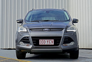 2013 Ford Kuga TF Titanium PwrShift AWD Grey 6 Speed Sports Automatic Dual Clutch Wagon.