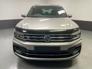 2019 Volkswagen Tiguan 5N MY19.5 132TSI DSG 4MOTION R-Line Edition Silver 7 Speed.