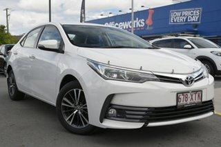 2017 Toyota Corolla ZRE172R SX S-CVT White 7 Speed Constant Variable Sedan.