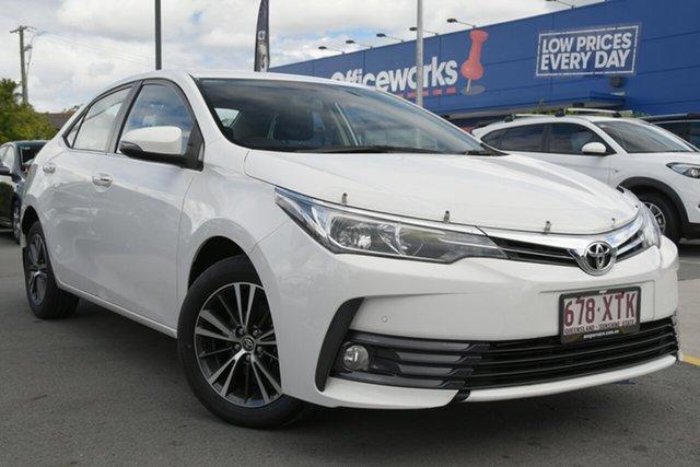 Used Toyota Corolla ZRE172R SX S-CVT Aspley, 2017 Toyota Corolla ZRE172R SX S-CVT White 7 Speed Constant Variable Sedan