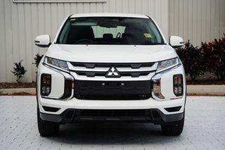 2021 Mitsubishi ASX XD MY21 ES 2WD ADAS White 1 Speed Constant Variable Wagon.