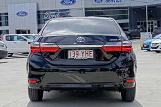 2017 Toyota Corolla ZRE172R Ascent S-CVT Black 7 Speed Constant Variable Sedan