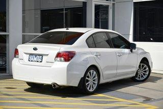 2013 Subaru Impreza G4 MY13 2.0i Lineartronic AWD White 6 Speed Constant Variable Sedan