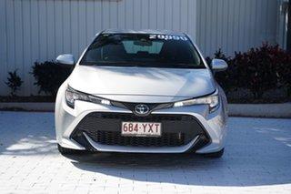 2018 Toyota Corolla ZWE211R Ascent Sport E-CVT Hybrid White 10 Speed Constant Variable Hatchback.